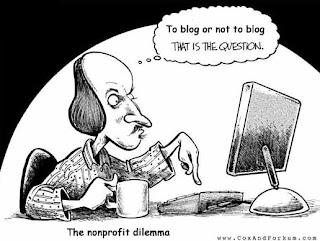 Pourquoi je blogue encore...