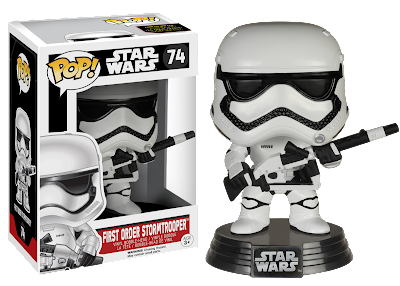 "Amazon Exclusive Star Wars The Force Awakens ""Heavy Artillery"" First Order Stormtrooper Pop! Figure by Funko"