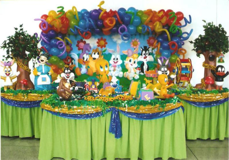 La fiesta ideal para los consentidos de la casa tips para for Baby looney tune decoration