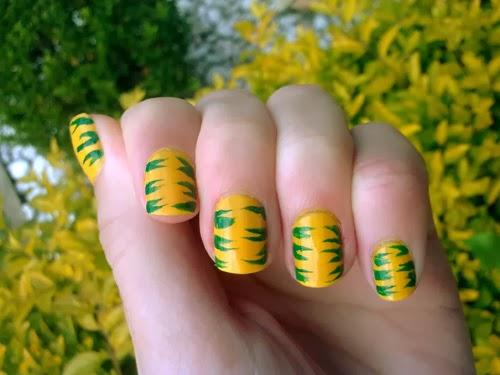Modelos de unhas para torcer pelo Brasil Copa do Mundo 2014