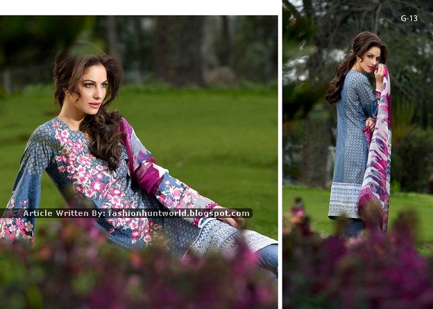 Gohar Lawn Collection 2015-2016 - 07