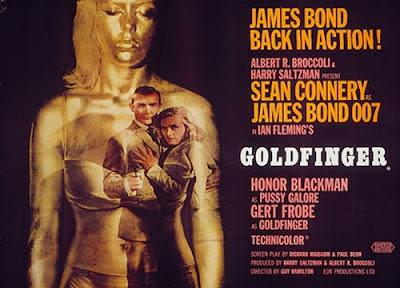 James Bond 007 Sean Connery Goldfinger retrospective