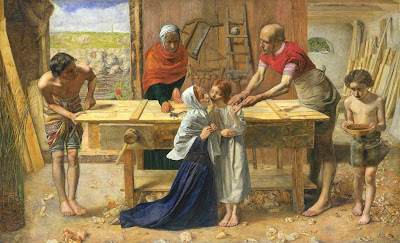 Sir John Everett Millais - Christ in the House of His Parents ('The Carpenter's Shop')