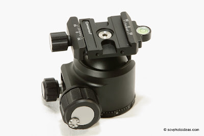 Sunwayfoto XB-44 lock knobs - side