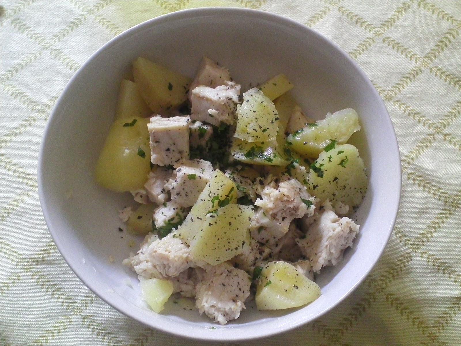Anna in casa ricette e non solo insalata di merluzzo e for Casa del merluzzo