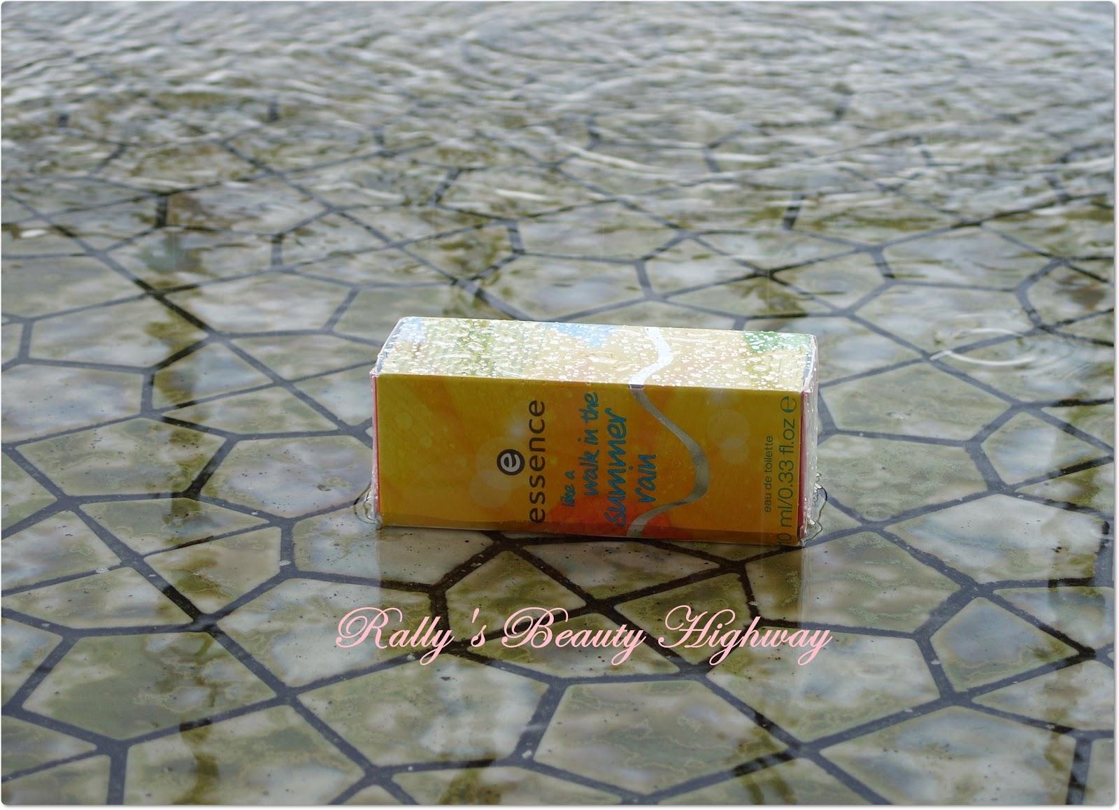 perfume, Essence cosmetics