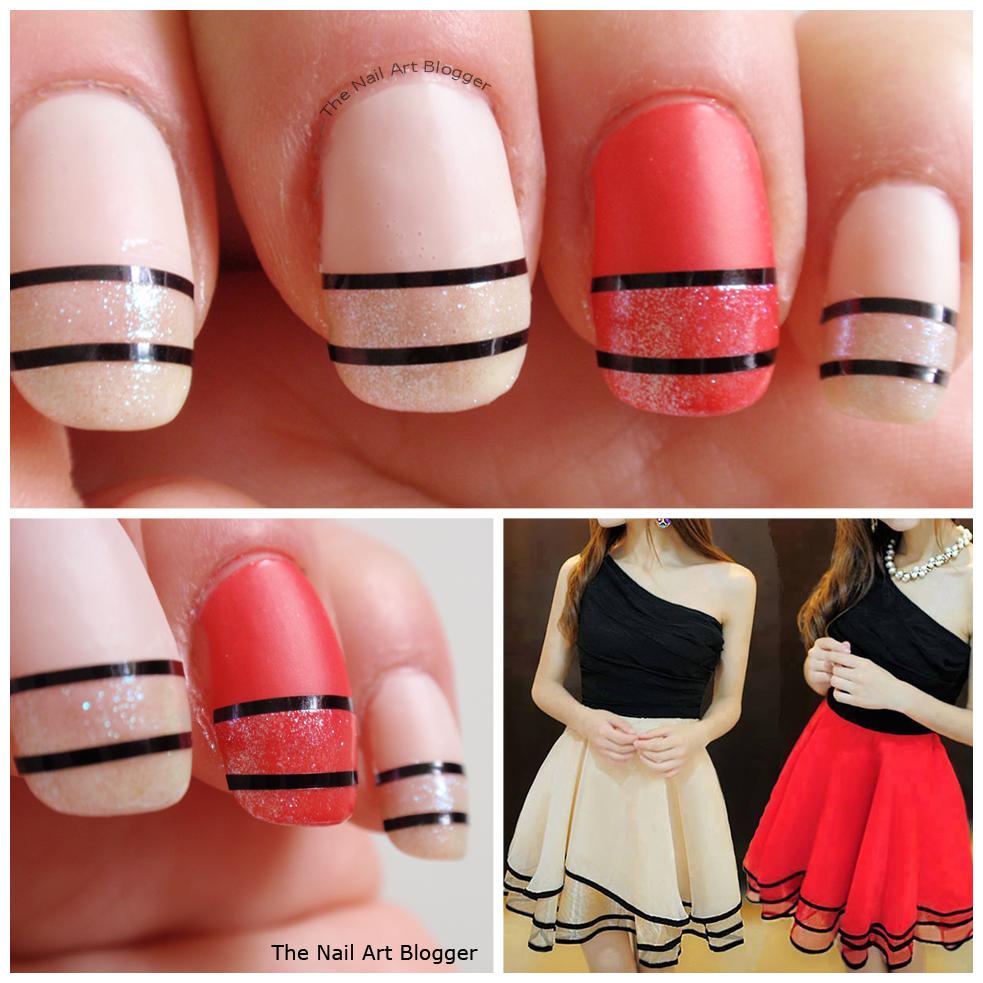 The Nail Art Blogger: Nail Art inspired by fashion
