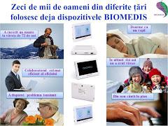 Produsele Biomedis, prezente in majoritatea statelor