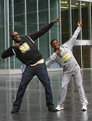 Usain Bolt and Haile Gebrselassie