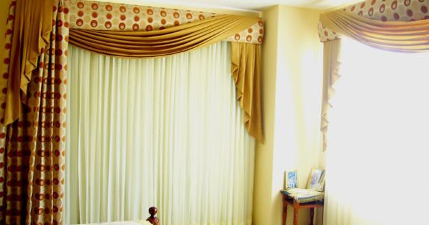 Spanish Blackout Curtain Design For Bedroom
