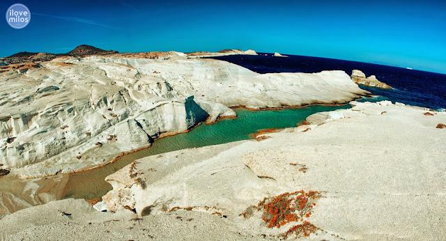 Milos island - Sarakiniko beach