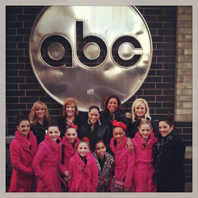 Abby Lee Dance Company from Dance Moms in NYC for The View