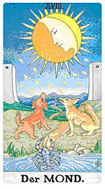 Значение на Таро карта ХVIII Луната - хороскоп за 2015 година