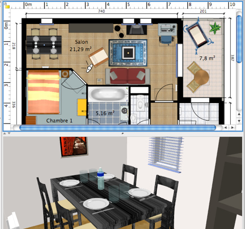 Advanced Projects In Computers Sweet Home 3d Design A House