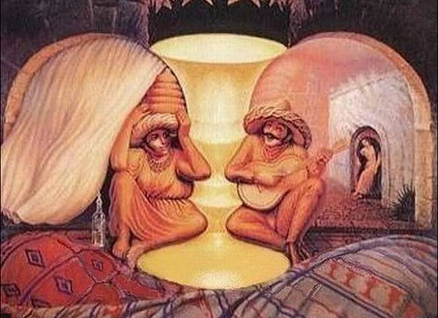 Колко лица виждате на картината?