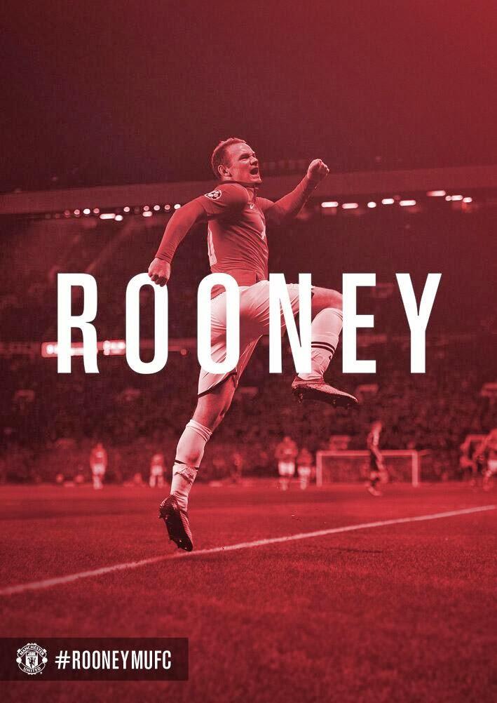 Wayne Rooney Resmi Perpanjang Kontrak di Manchester United