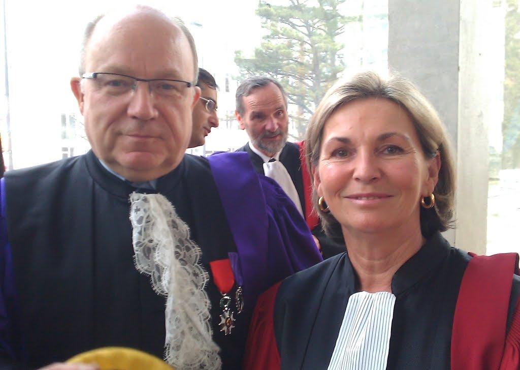 avec Yves Lecointe, président de l'Université
