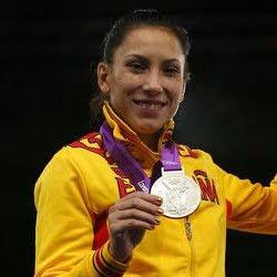 Brigitte Yagüe medalla de plata en Taekwondo 49 kilos España Juegos Olímpicos Londres 2012