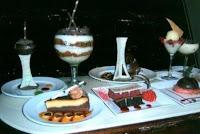 The dessert cart.