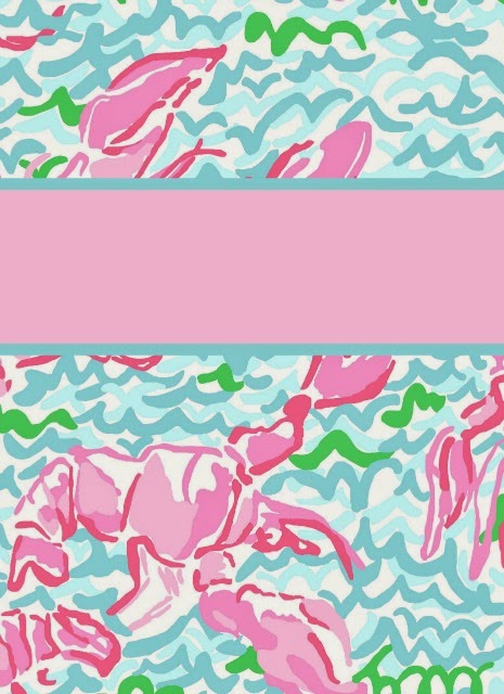 Eva darling preppy goes back to school with lilly again for Cool binder cover templates