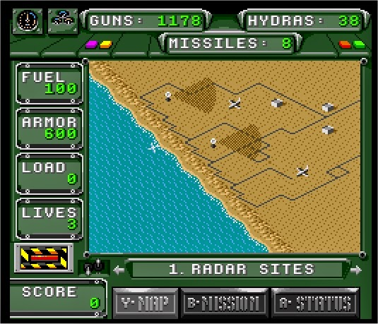 Boxed Pixels Snes Review Desert Strike Game 055