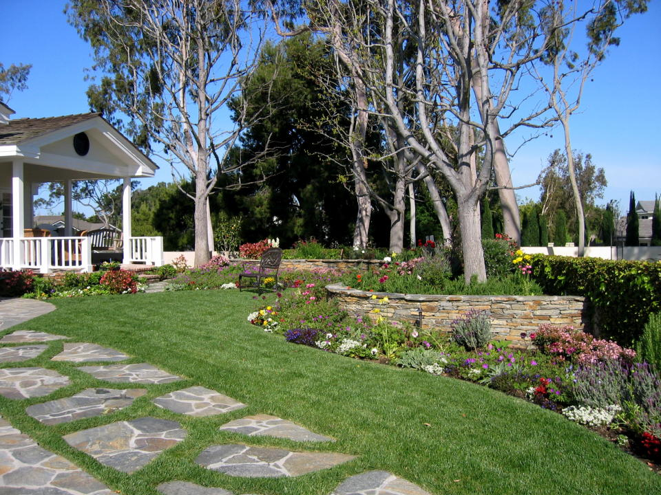 Home garden design ideas wallpapers pictures fashion for House landscape plan