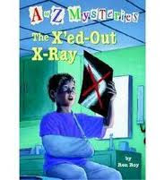 image: The X-ed out X-ray - mystery book reviews
