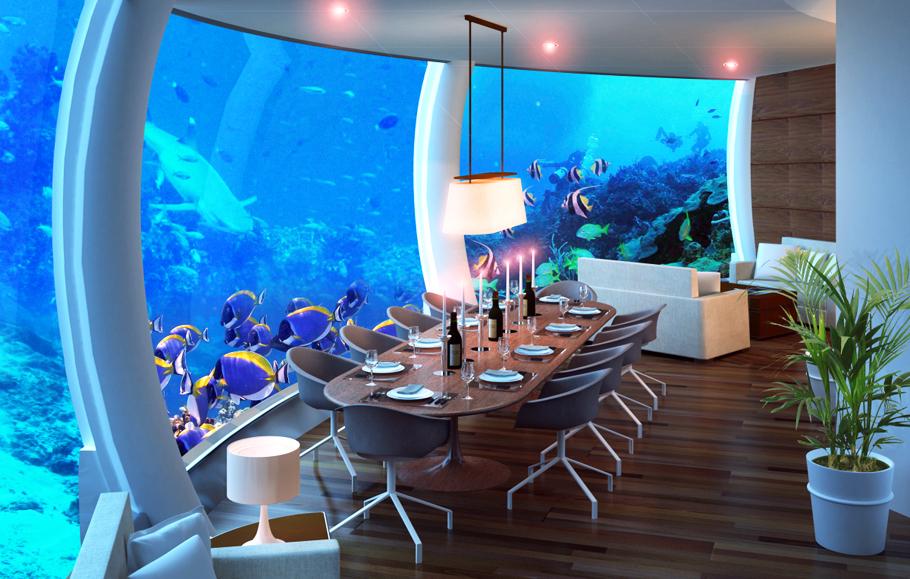 Futurix Poseidon Undersea Resort Il Primo Hotel Sottomarino