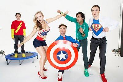 The Big Bang Theory Superheroes