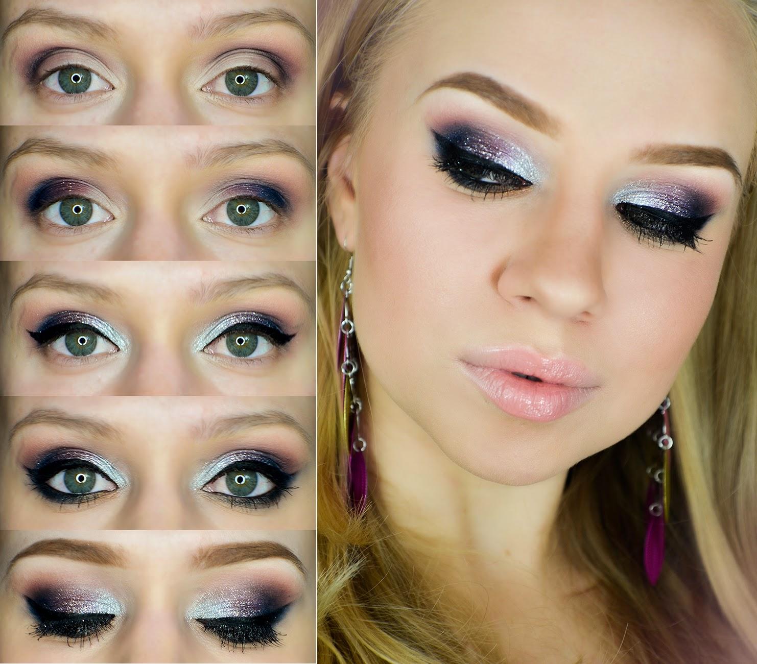 Ogonowska Maja Make Up Kolorowy Makijaż Sylwestrowy Z Srebrnym
