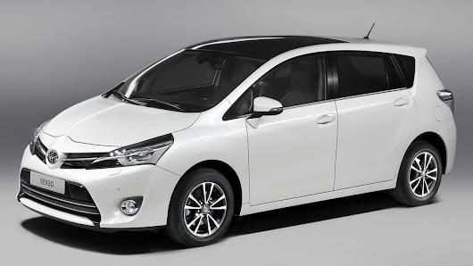makyajlı 2013 Toyota Verso MPV örtüsünü tamamen kaldırdı