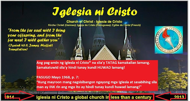 Ang Dating Daan Website Felix Manalo Burial Pods