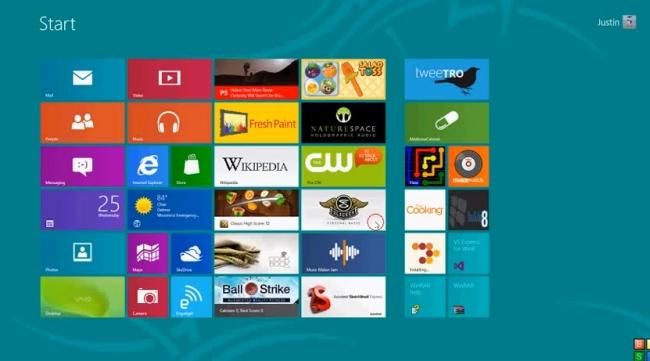 applicazioni windows 8