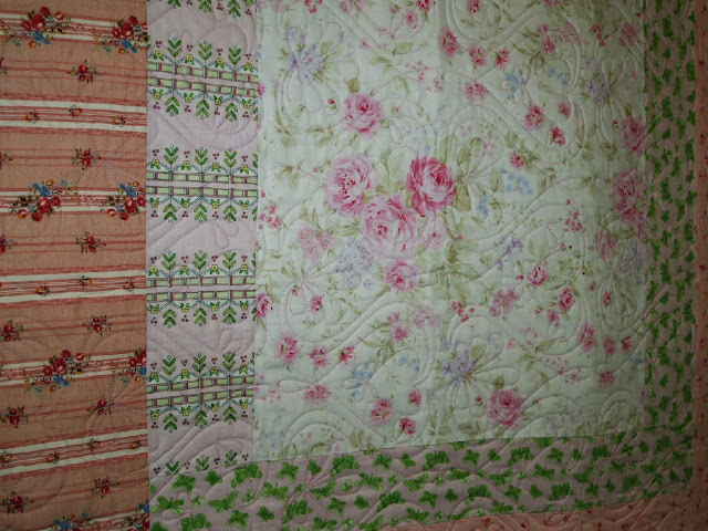 Longarm quilting Betty Meadows Alabama