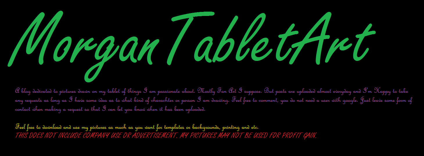 MorganFire Tablet Art