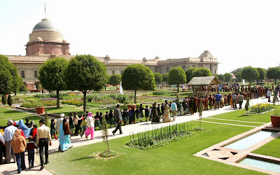Mughal Garden, Rashtrapati Bhawan,  Delhi