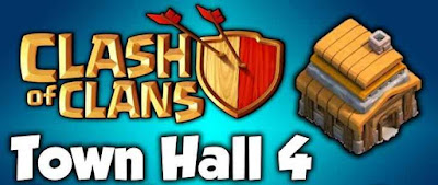 Town Hall 4 Clash of Clans