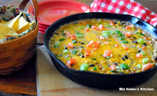Southwest Skillet Dip from Miz Helen's Country Cottage