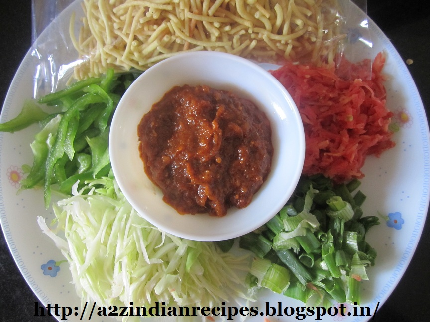 Best marathi recipes chinese bhel mix all ingredients and serve forumfinder Gallery
