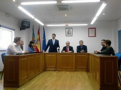 Saló de Plens de l'Ajuntament de Beniarrés