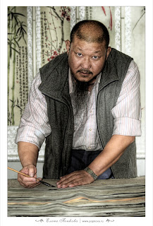 Китайский художник Юнь Гуюй