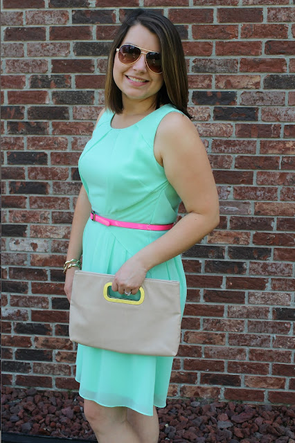 Vince Camuto Mint Sleeveless Dress The Peacock Roost