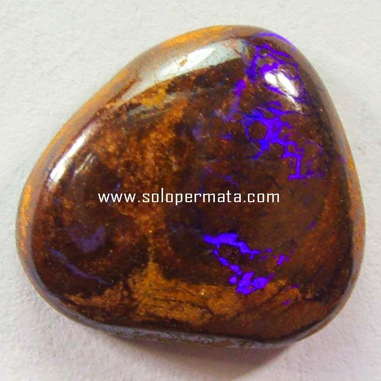 Batu Permata Boulder Opal Kalimaya Mexico - Sp066
