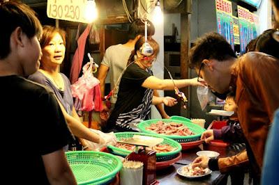 Shida Night Market Food Taipei Taiwan