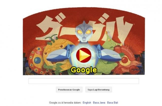 Google Doodle Hari Ini Peringati Ulang Tahun Eiji Tsuburaya