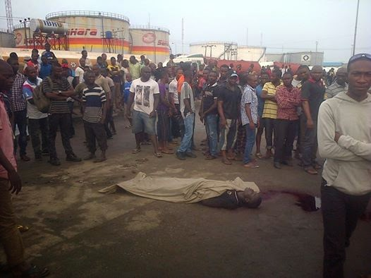 Facebook Post || Naval Officer Kills Bus Conductor in Lagos Over Bribe