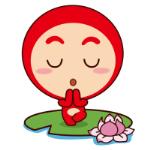 emoticones de peluche meditando