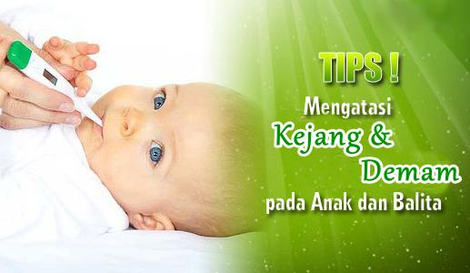 Tips Atasi Kejang Pada Anak