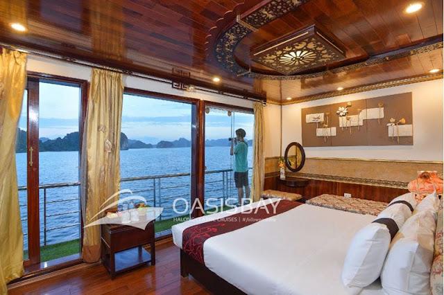 halong oasis bay cruise 2 days 1 night