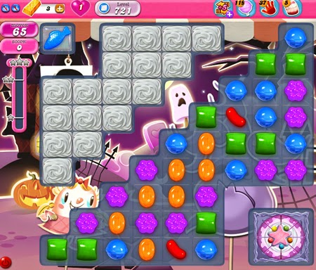 Candy Crush Saga 721